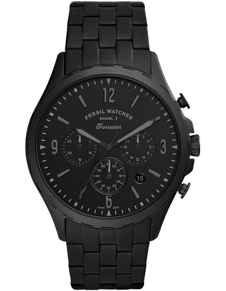 Forrester Black Chronograph Watch image 1