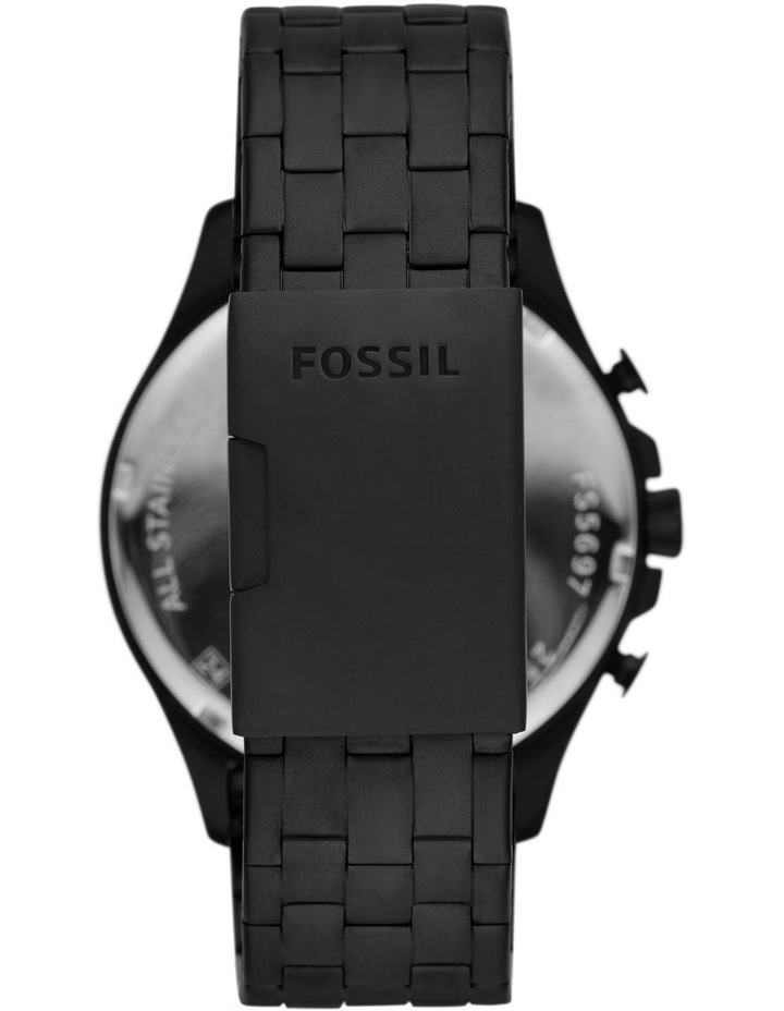 Forrester Black Chronograph Watch image 2