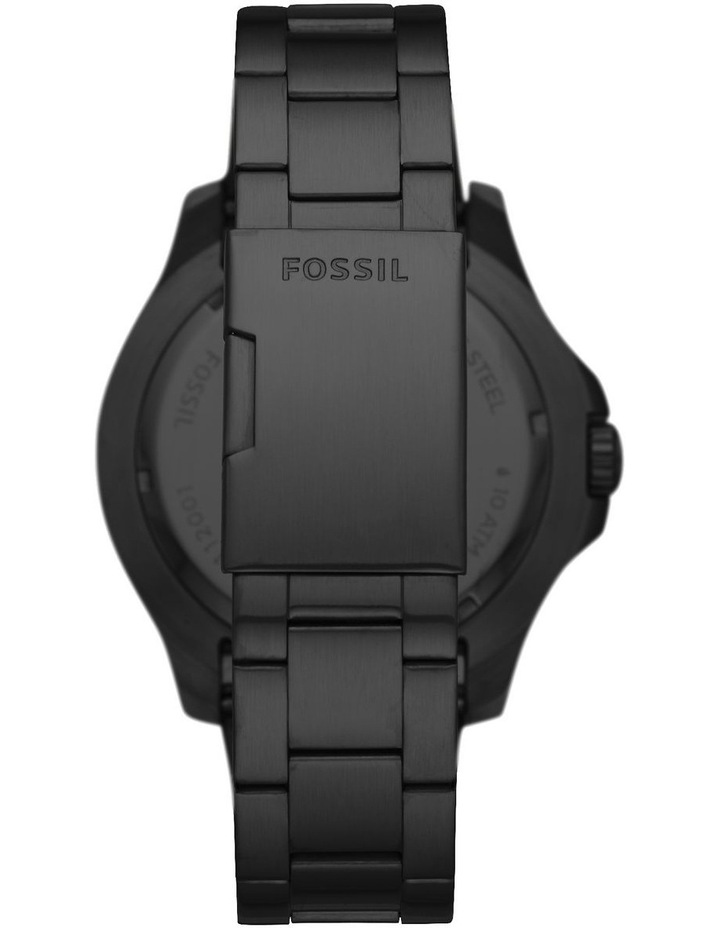 FB-02 Black Analogue Watch image 2