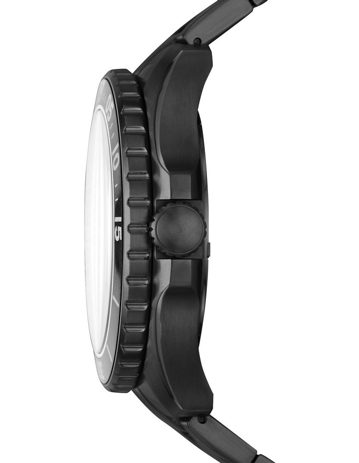 FB-02 Black Analogue Watch image 3