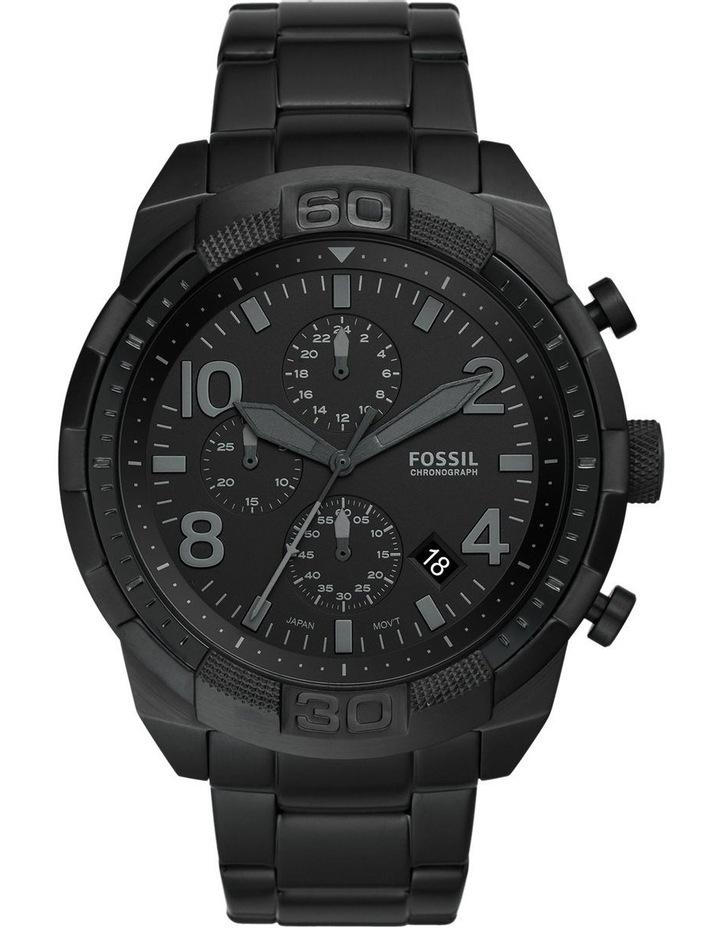 Bronson Black Chronograph Watch image 1