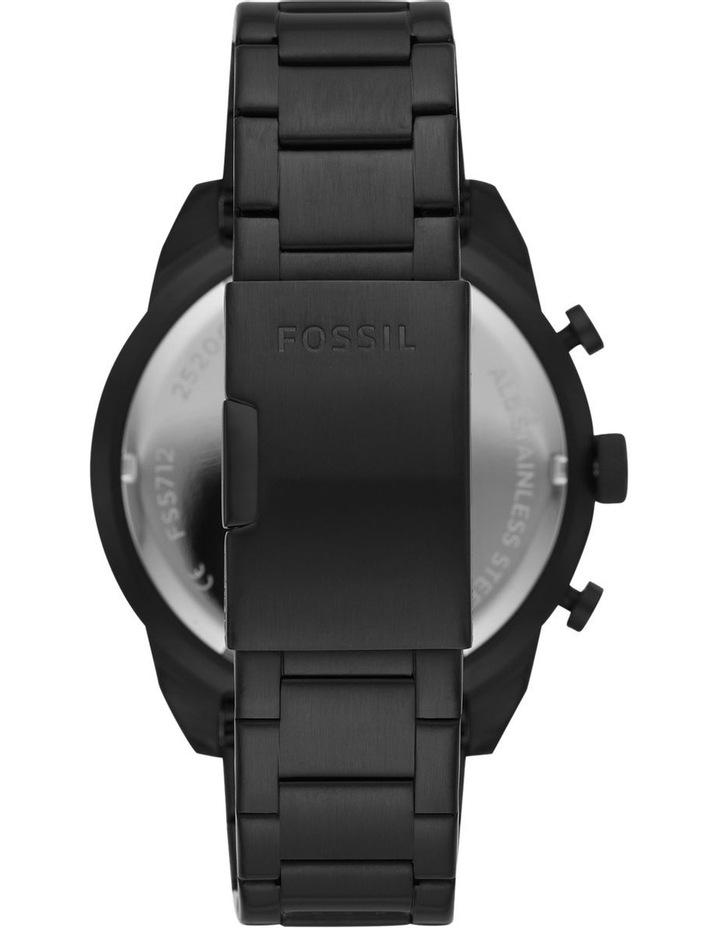 Bronson Black Chronograph Watch image 2
