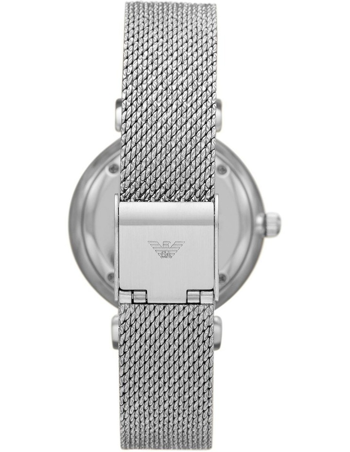 Gianni T-Bar Mother of Pearl Dial Silver Stainless Steel Analog Watch image 2