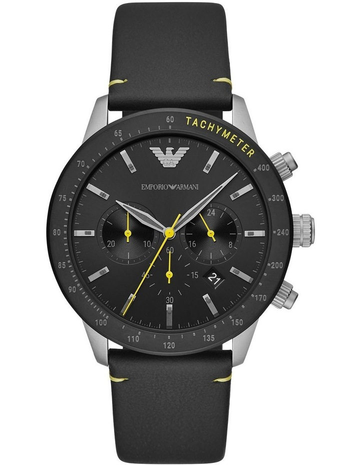 Black Chronograph Watch image 1