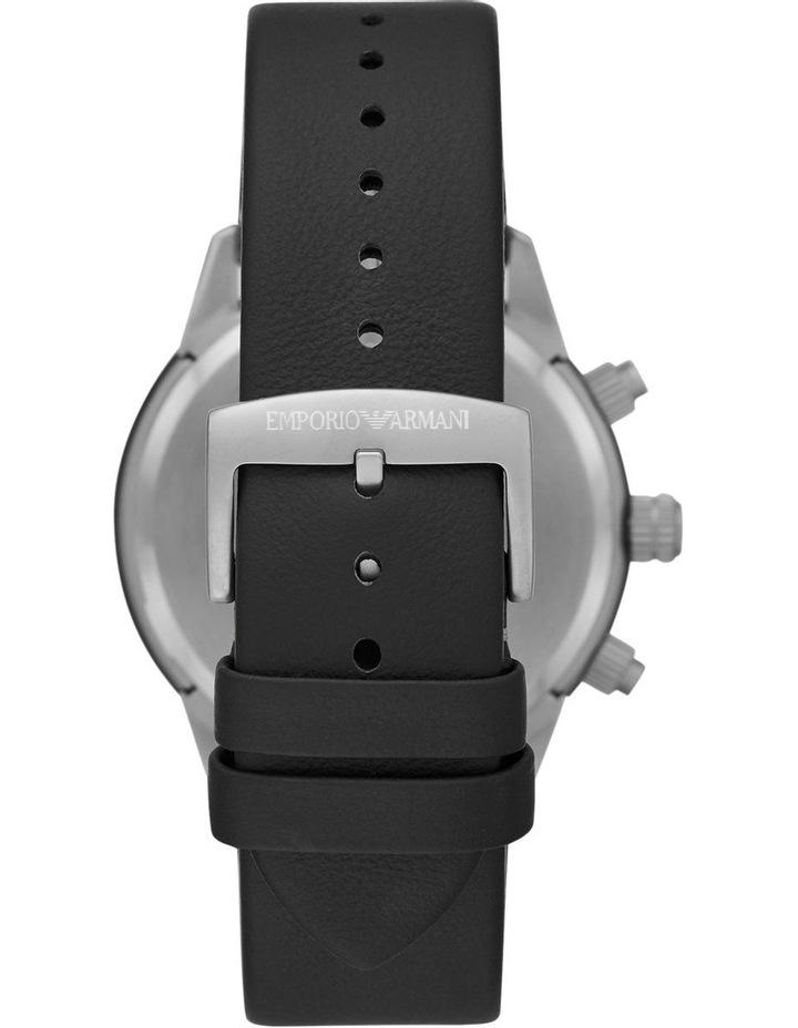 Black Chronograph Watch image 2