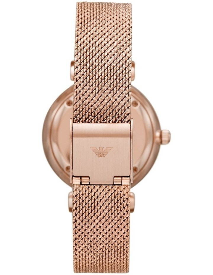 Gianni T-Bar with Mother of Pearl Dial Rose Gold Stainless Steel Analog Watch image 2