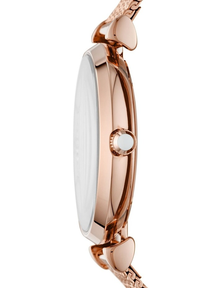Gianni T-Bar with Mother of Pearl Dial Rose Gold Stainless Steel Analog Watch image 3