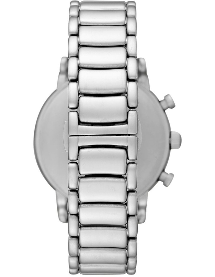 Silver-Tone Chronograph Watch image 2