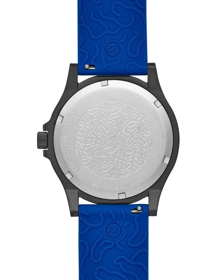 Fisk Blue Analogue Watch image 4