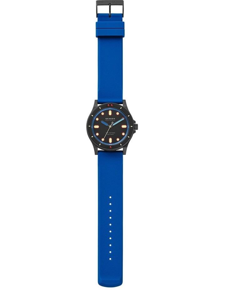 Fisk Blue Analogue Watch image 5