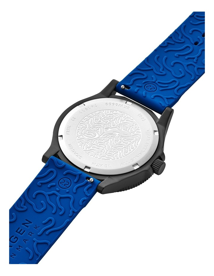 Fisk Blue Analogue Watch image 6