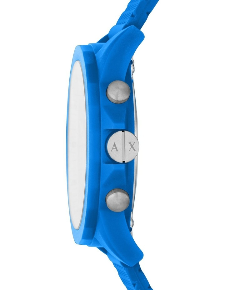 Blue Chronograph Watch image 3