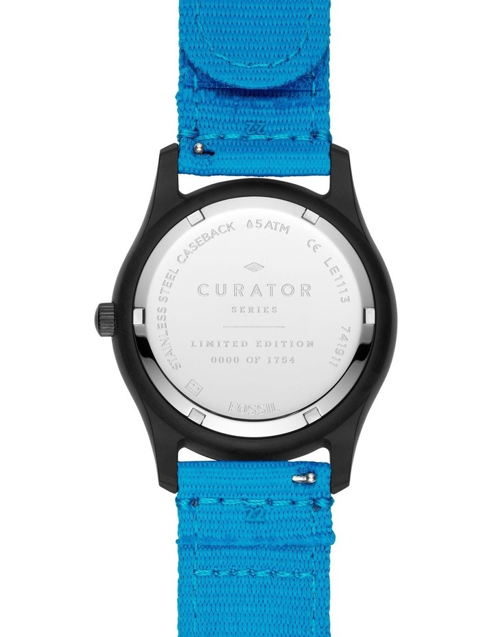 Earth Day Blue Analogue Watch image 4