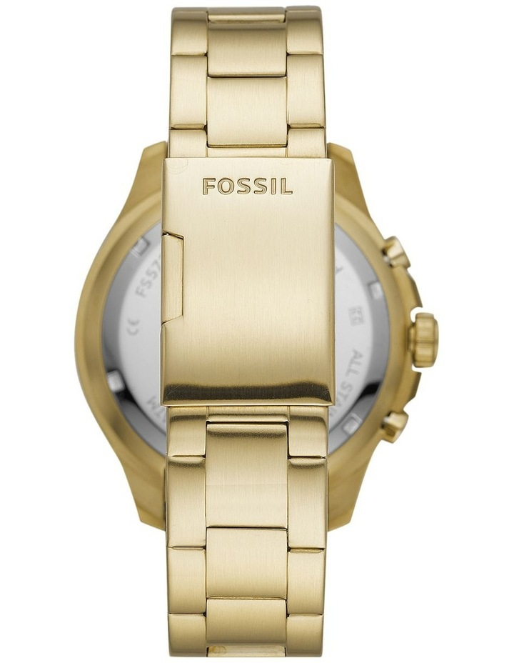 FB-03 Gold-Tone Chronograph Watch image 2