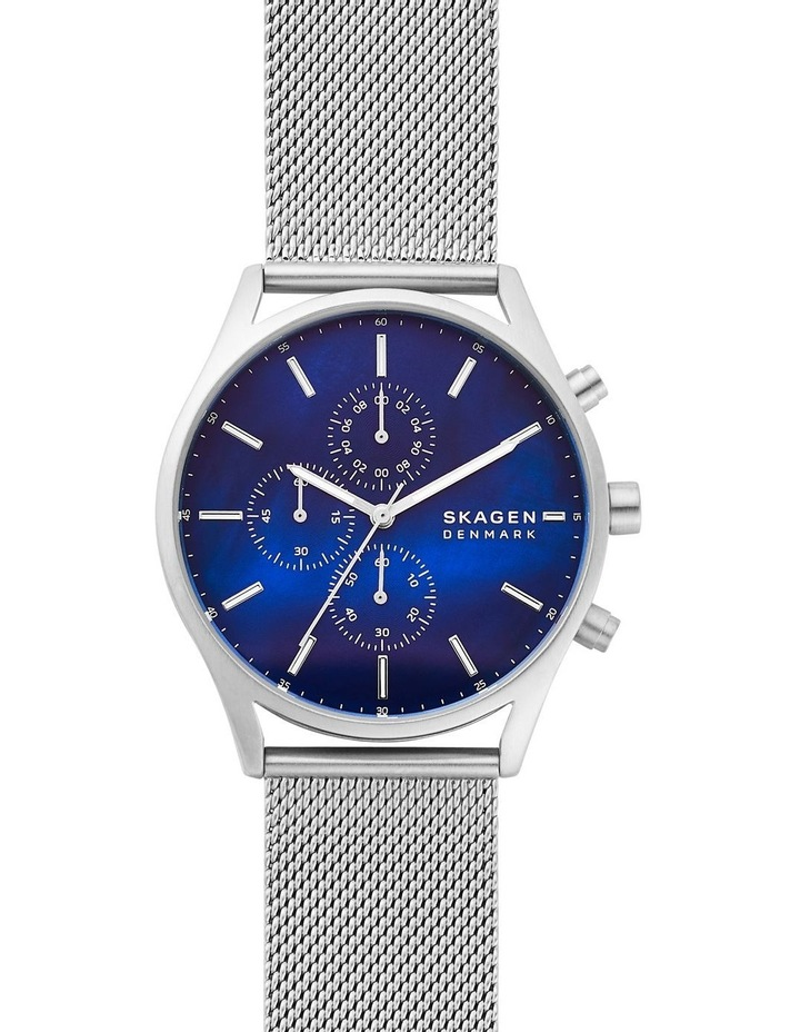 Holst Silver-Tone Chronograph Watch image 1