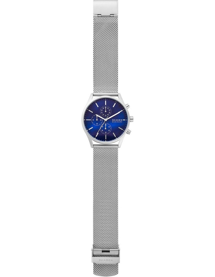 Holst Silver-Tone Chronograph Watch image 4