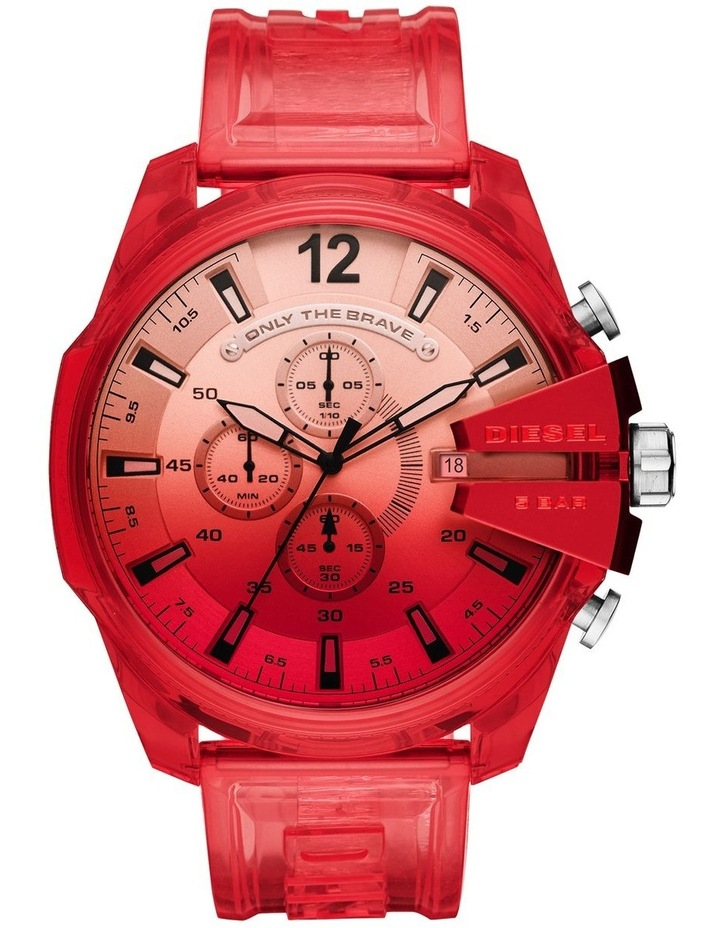 Mega Chief Red Chronograph Watch image 1