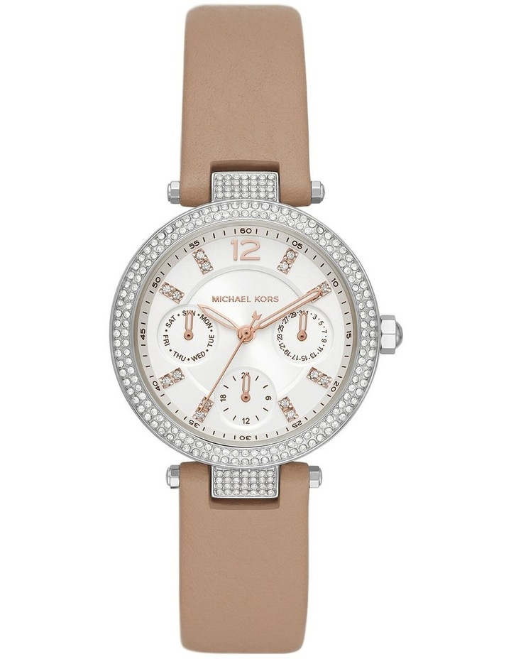Parker Brown Leather Analog Watch image 1