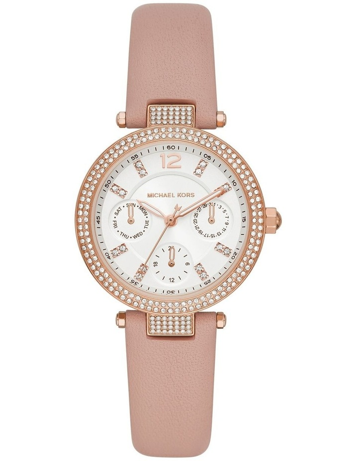 Parker Pink Leather Analog Watch image 1