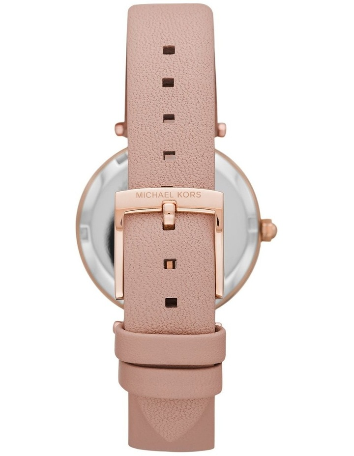 Parker Pink Leather Analog Watch image 2