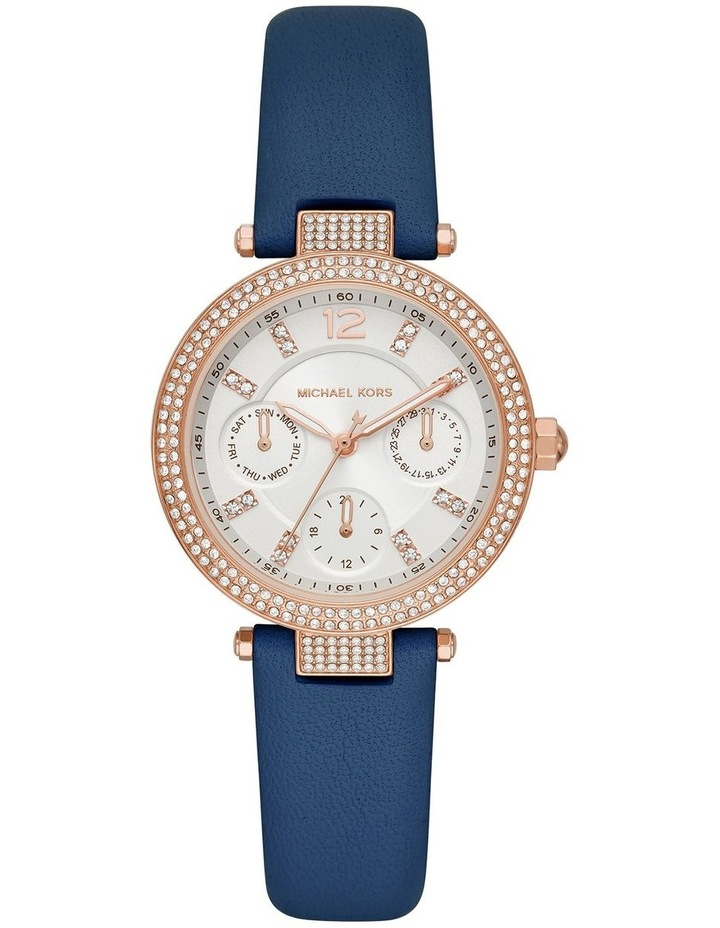 Parker Blue Leather Analog Watch image 1