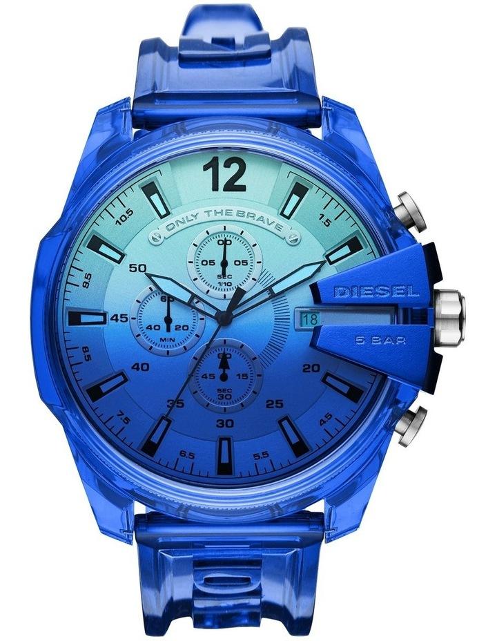 Mega Chief Blue Chronograph Watch image 1