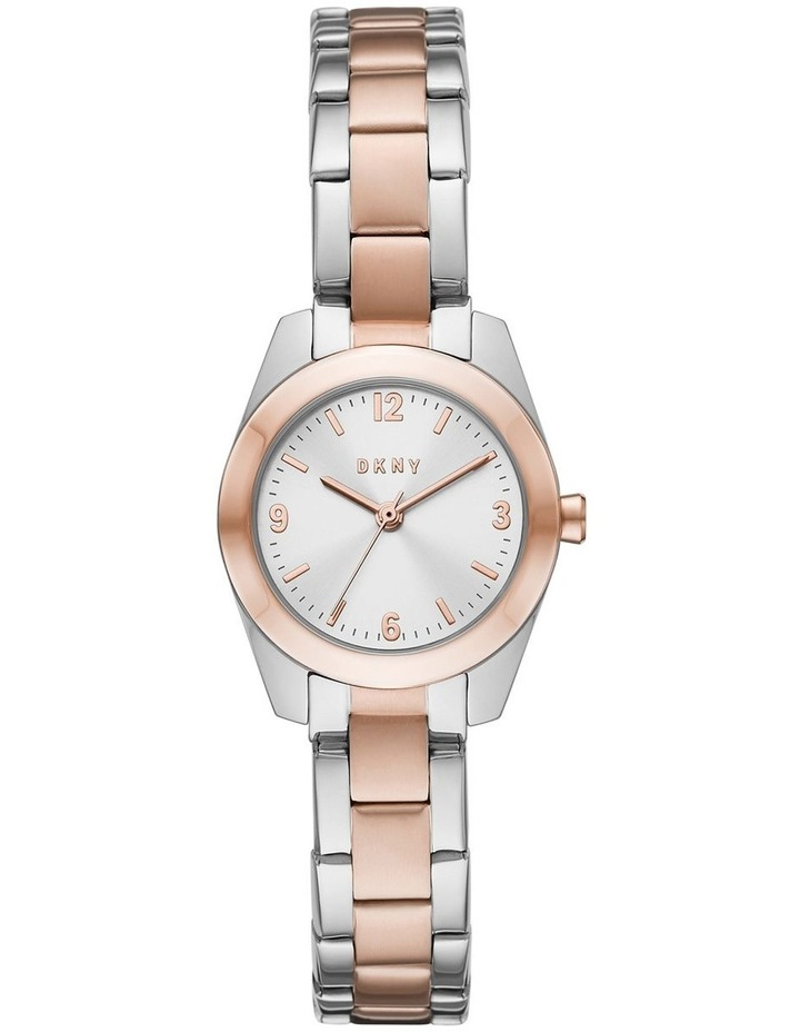 DKNY Nolita Silver/Rose Gold Stainless Steel Analog Watch NY2923 image 1