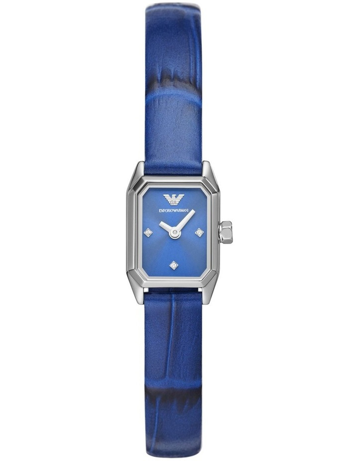 Emporio Armani Blue Leather Analog Watch AR11346 image 1