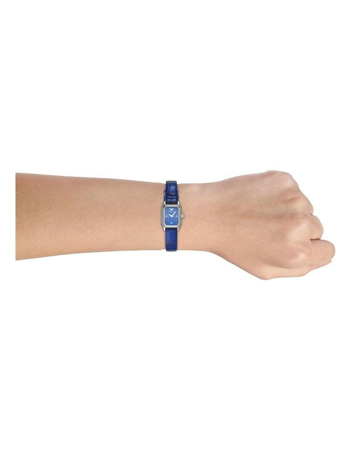 Emporio Armani Blue Leather Analog Watch AR11346 image 2