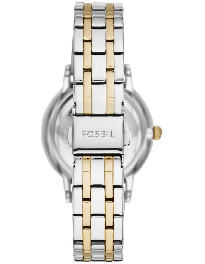 Gwen Silver/Gold Stainless Steel Analog Watch ES4881 image 3