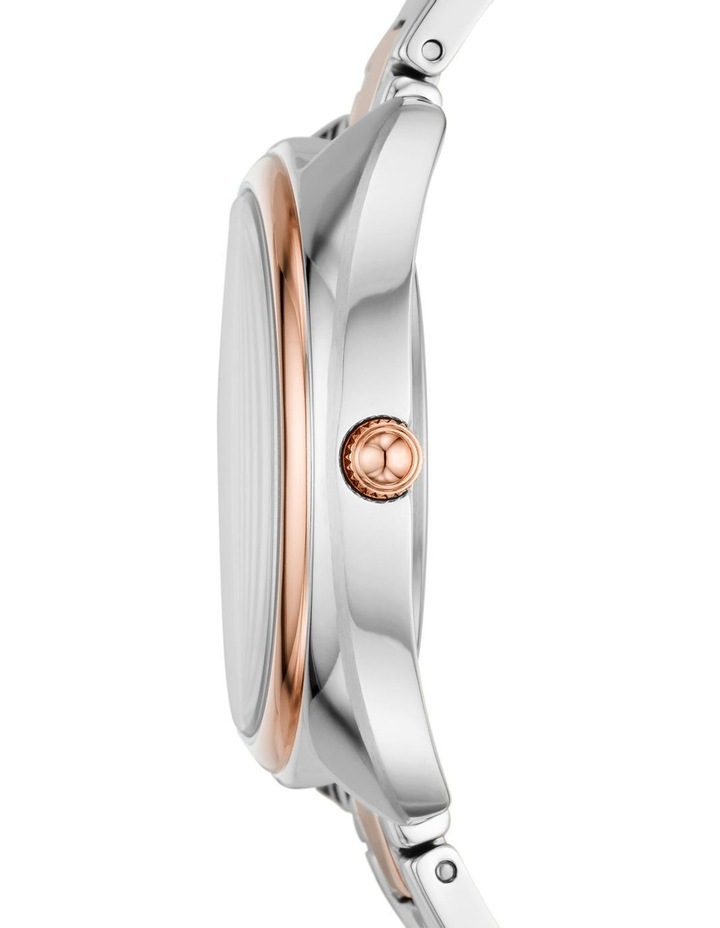Fossil Gabby Silver/Rose Gold Stainless Steel Analog Watch ES5072 image 4