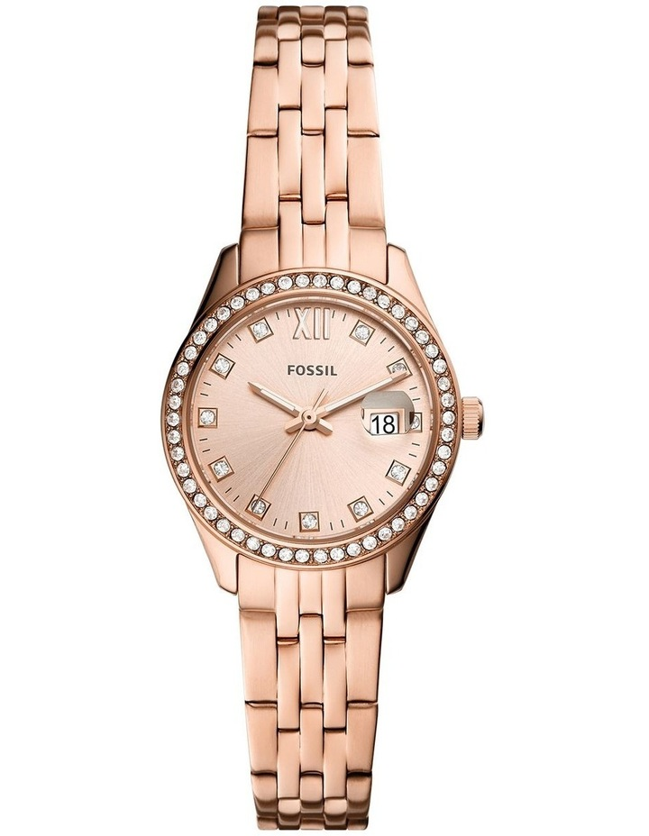 Scarlette Micro Rose Gold Stainless Steel Analog Watch ES5038 image 1