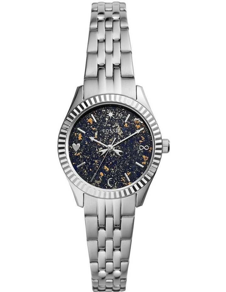 Fossil Scarlette Mini Silver Stainless Steel Analog Watch ES5061 image 1