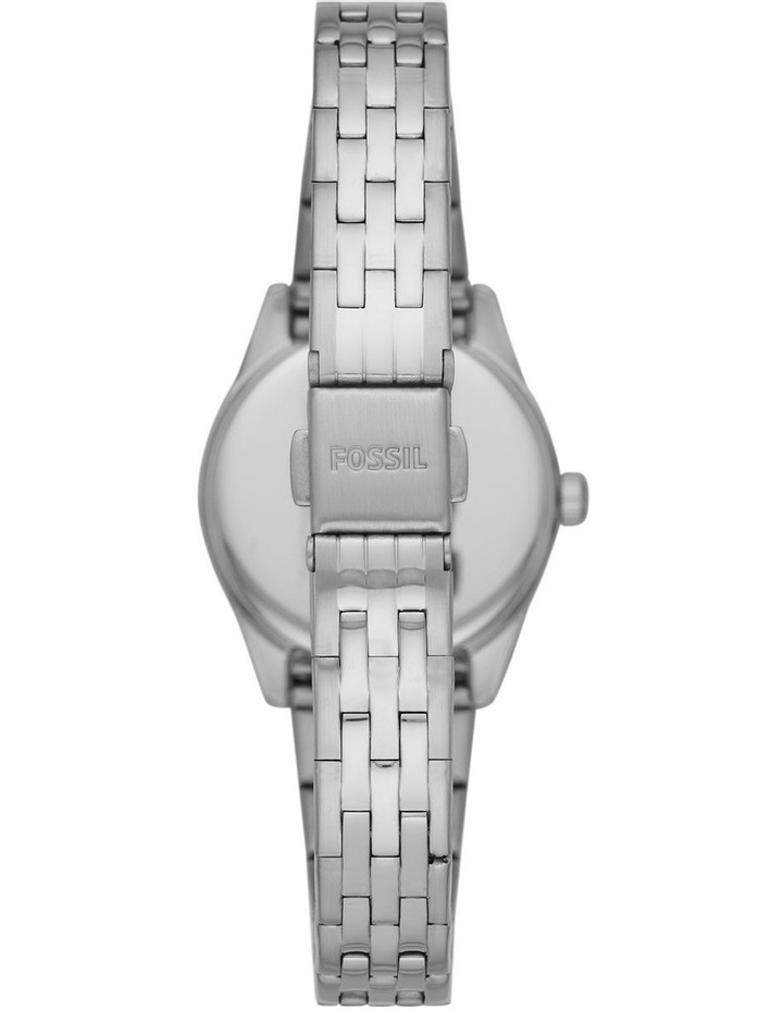 Fossil Scarlette Mini Silver Stainless Steel Analog Watch ES5061 image 3