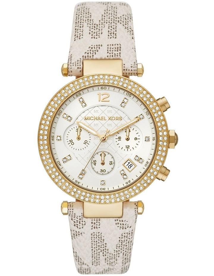 Michael Kors Parker Creme Chronograph Watch MK6916 image 1