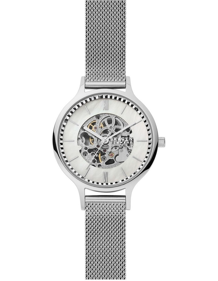Anita Silver Stainless Steel Analog Watch SKW2958 image 1