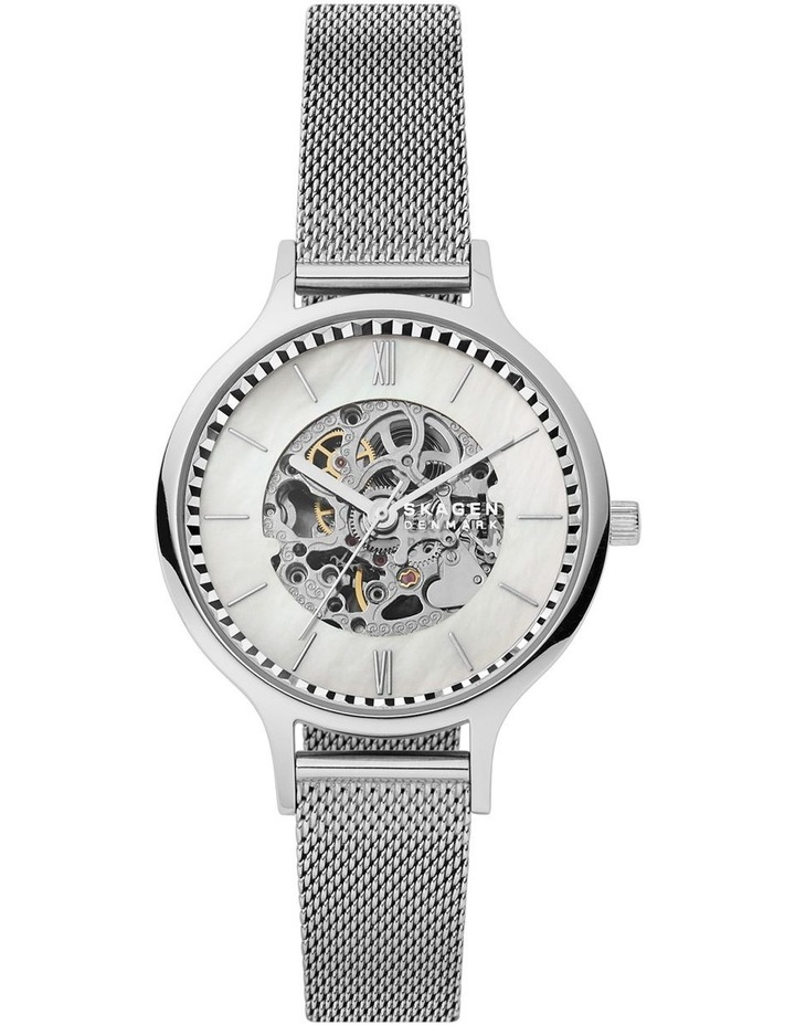 Anita Silver Stainless Steel Analog Watch SKW2958 image 5