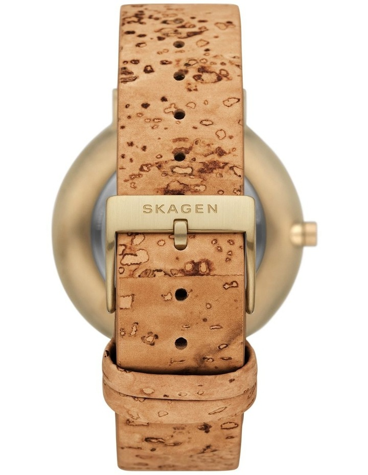 Aaren Naturals Three-Hand Brown Analog Watch image 3