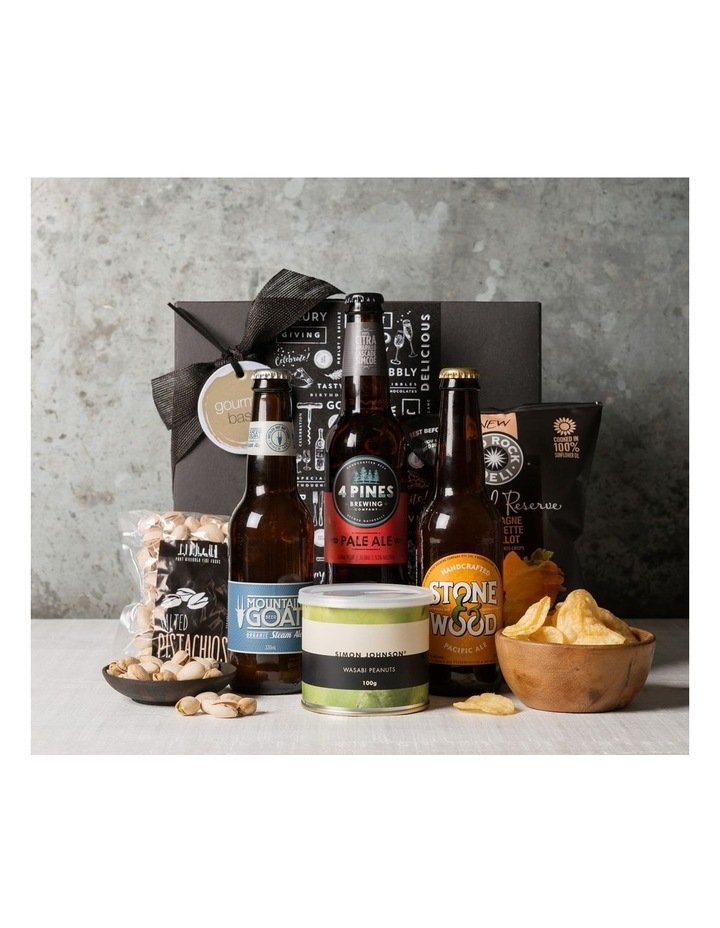 Fathers Day Mini Beer Hamper image 1