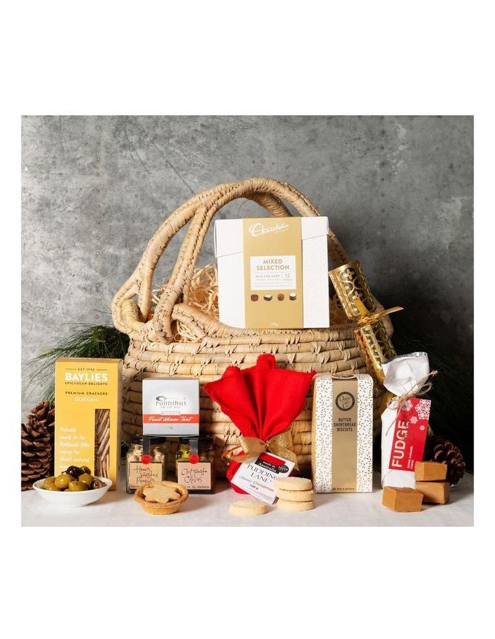 Christmas Indulgence Basket Gift Hamper image 1
