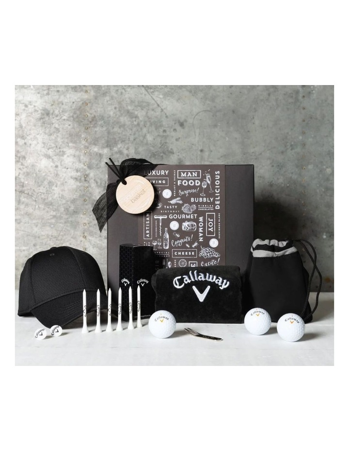 Father's Day Golf Nut Hamper image 1