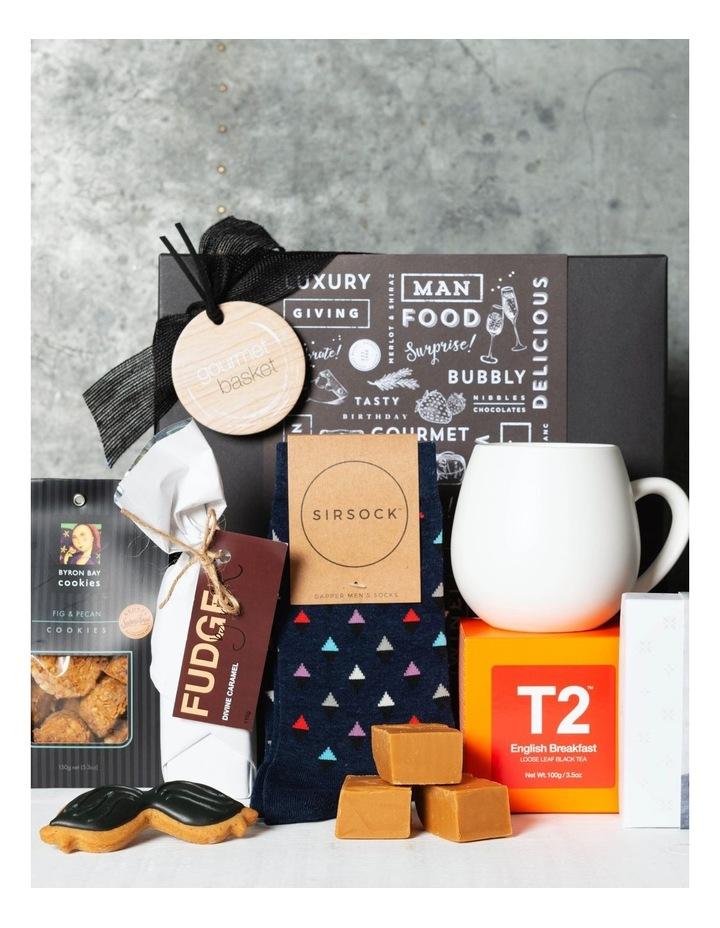 Gourmet Basket Fathers Day Tea Hamper For Him image 1