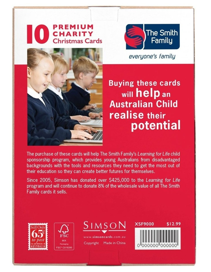 Christmas, Charity, The Smith Family, Galahs, Boxed cards image 5