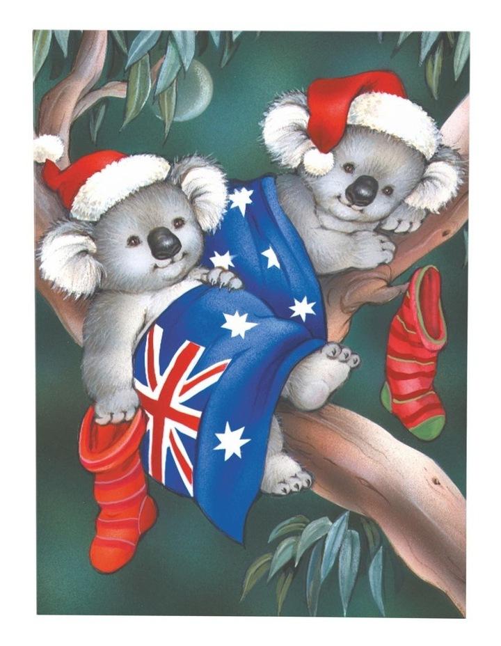 Boxed Redkite Australiana Boxed Cards, Koala's Australian Flag - 10 Pack image 2