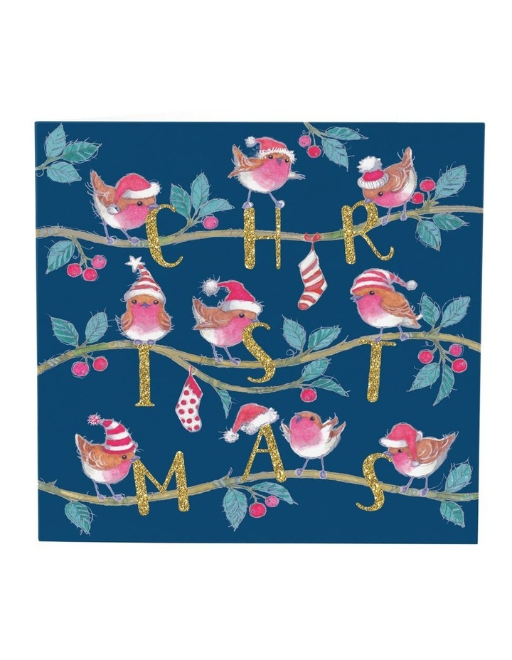 Christmas, Charity, Dementia Australia Research Foundation, Christmas robins, Boxed cards image 2