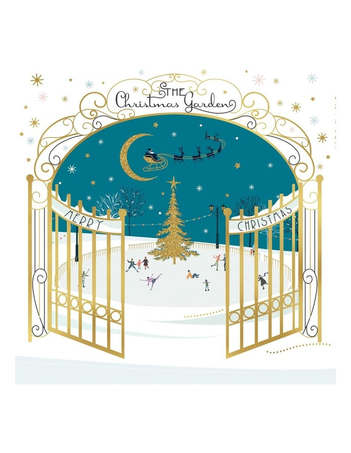 Beyond Blue Charity Christmas Boxed Cards, Ice Skating - 10 Pack image 1