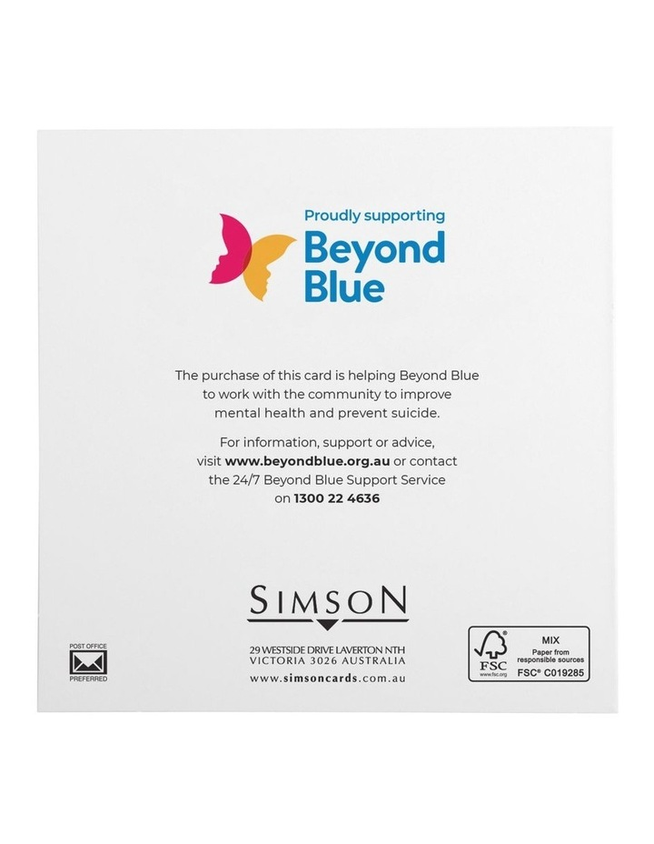 Beyond Blue Charity Christmas Boxed Cards, Merry Santa's - 10 Pack image 4