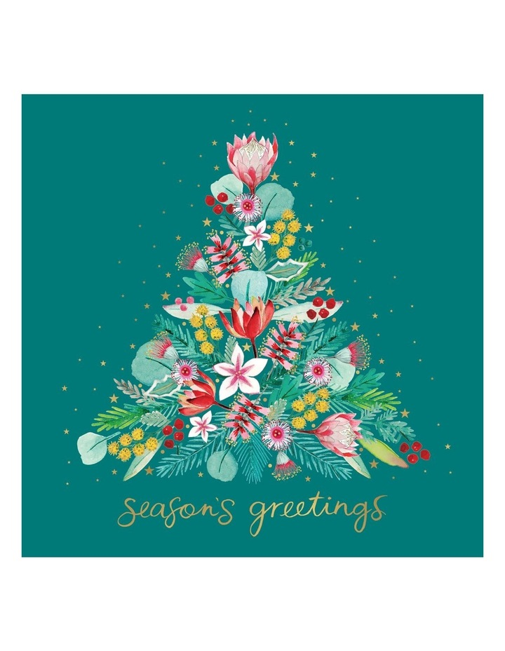 Dementia Australia Research Foundation Charity Christmas Boxed Cards, Bush Christmas - 10 Pack image 1