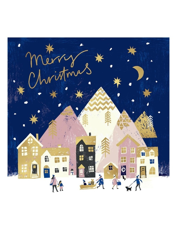 Redkite Charity Christmas Boxed Cards, Christmas Night - 10 Pack image 1