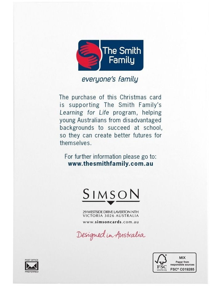 The Smith Family Charity Christmas Boxed Cards - 10 Pack image 4
